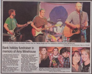 Amy Winehouse Foundation All-Dayer piece from the Daily Echo